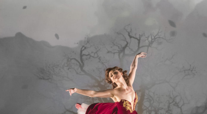 """The classic film, """"The Red Shoes"""" is adapted by Matthew Bourne"""