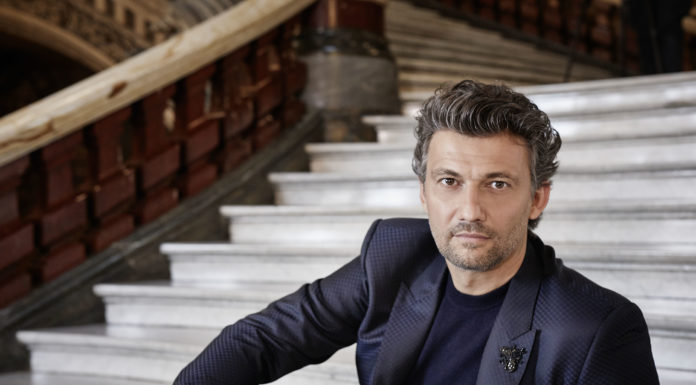 Tenor Jonas Kaufmann performs at the Broad Stage in Santa Monica