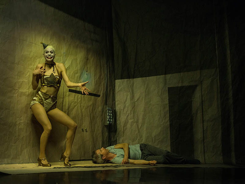 A hybrid of theatre and dance